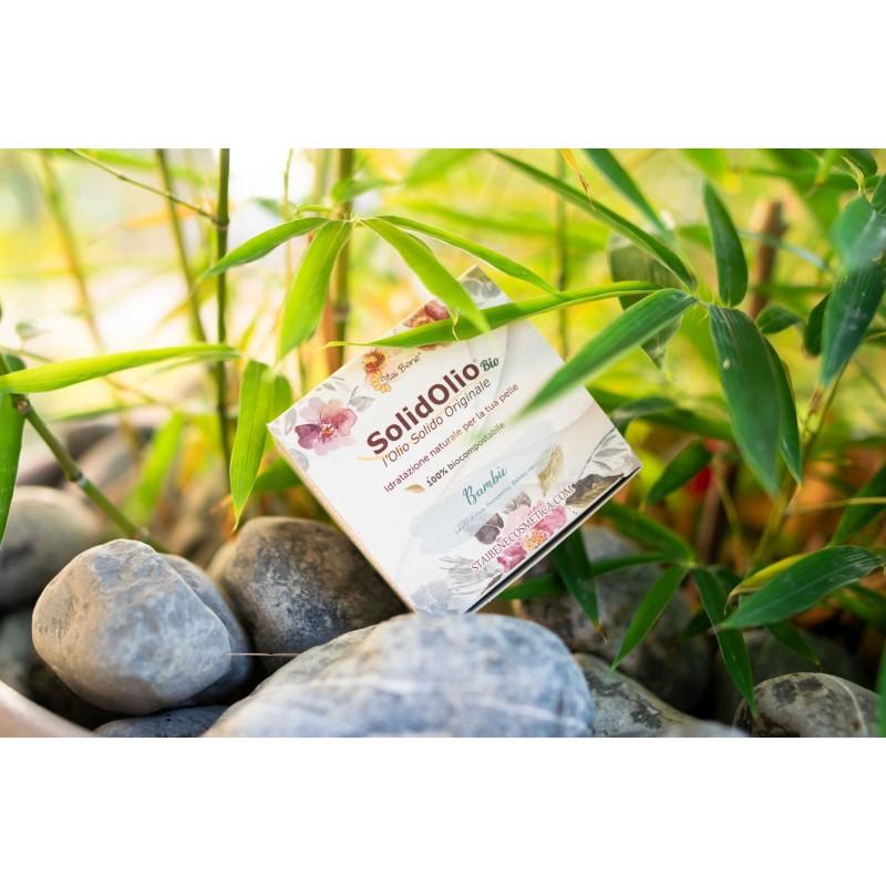 SolidOlio® Bambù ( legno di Fico,Pompelmo e Bambù nero) - Zero Waste