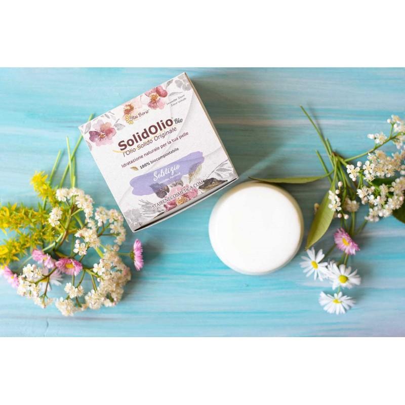 SolidOlio® Solstizio ( Orchidea e Patchouly) - Olio Solido Seducente- Zero Waste