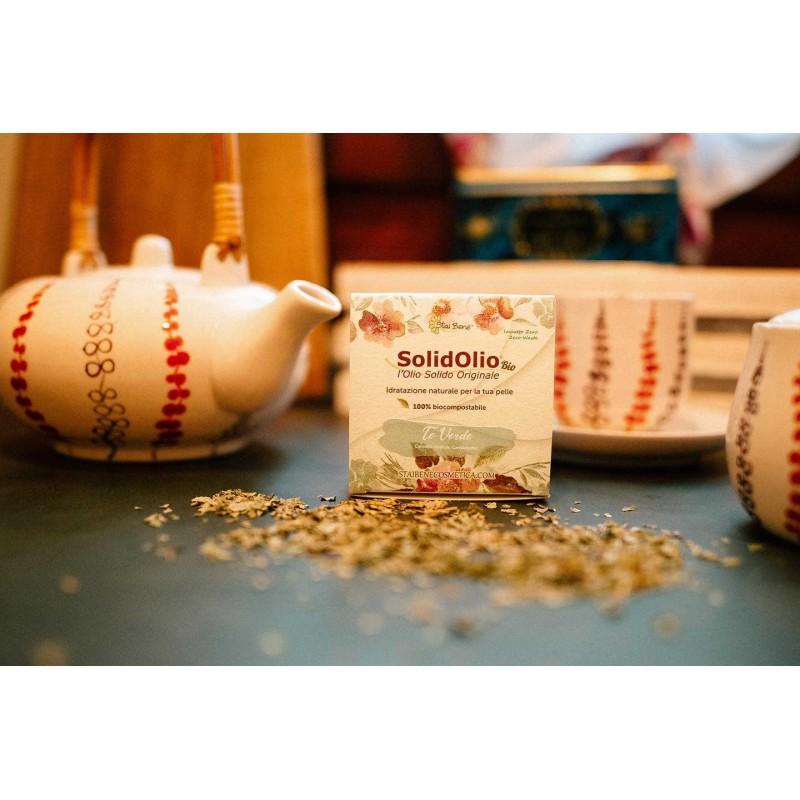 SolidOlio® Green tea ( Camelia sinensis and Cardamom) - Zero Waste
