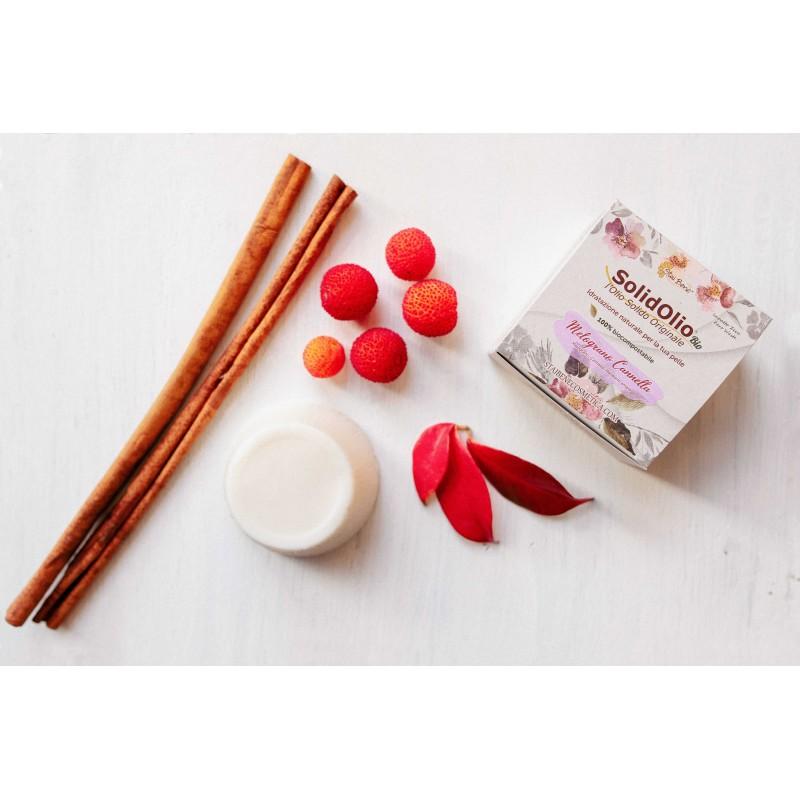SolidOlio® Pomegranate and Cinnamon- Zero Waste