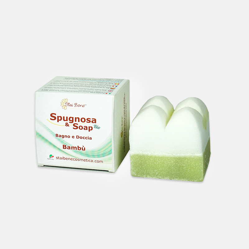 Spugnosa & Soap Bambu - Bianca