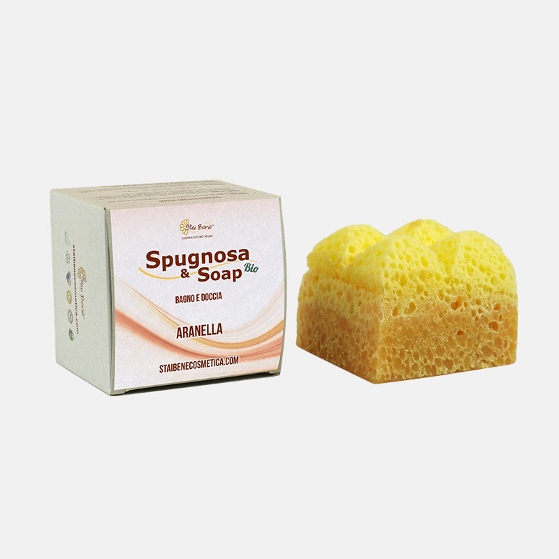 Spugnosa e Soap bio Aranella- Speziatissimo