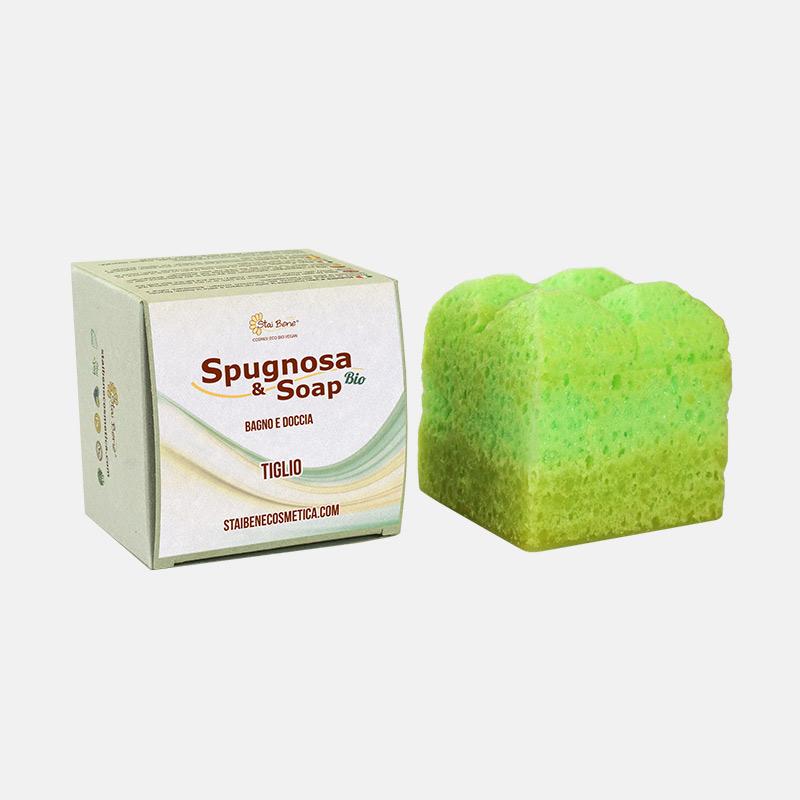 Spugnosa e Soap bio Tiglio rilassante