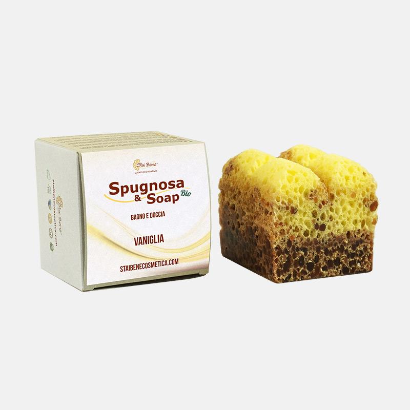 Spugnosa e Soap bio Vaniglia -  Deliziosa