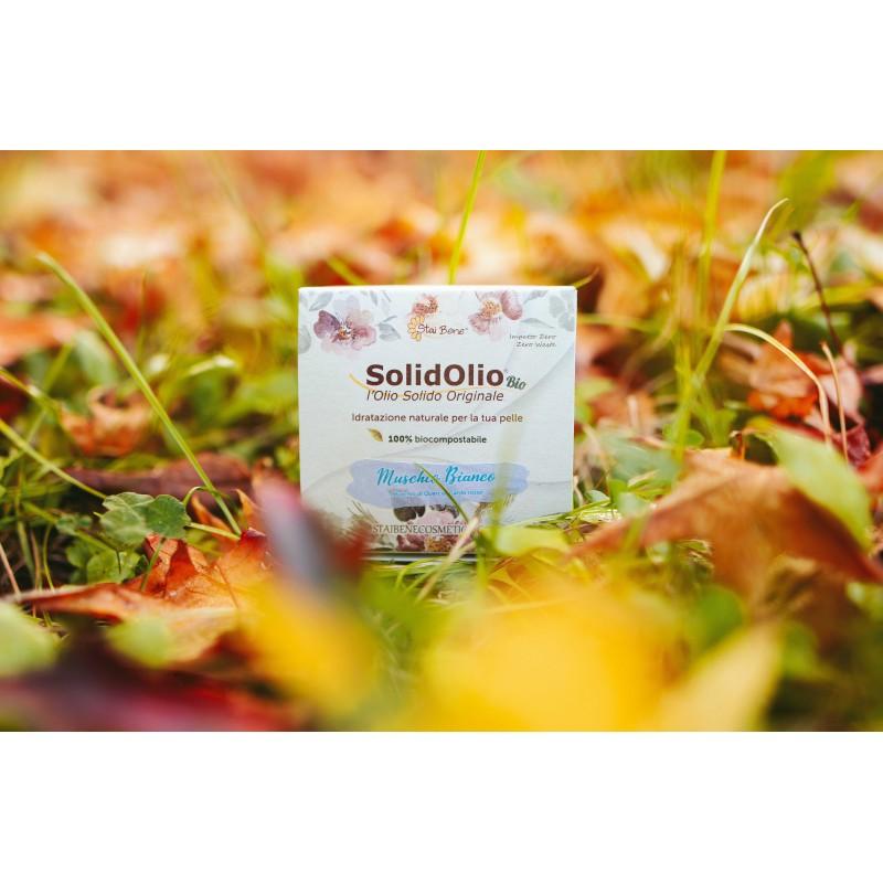 SolidOlio® Muschio Bianco ( Muschio di quercia e Cardo rosso)- Candido- Zero Waste