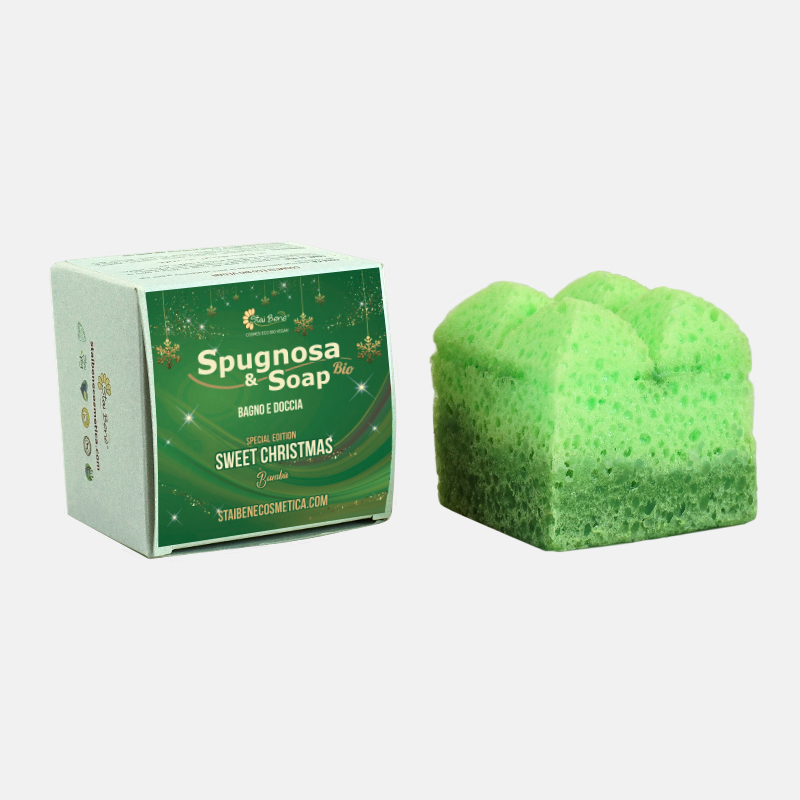 Spugnosa & Soap Bambù - Christmas Edition