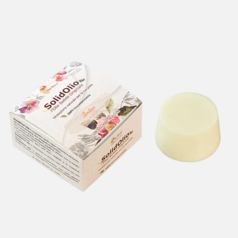 SolidOlio® Ambra ( Labdano,Vanilla e Legno di Rosa)- Arcano - Zero Waste