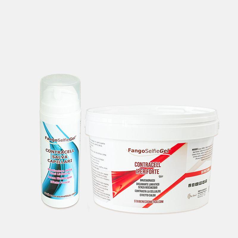 ContraCell® Fango Iperforte Bruciagrassi effetto Caldo da 3kg
