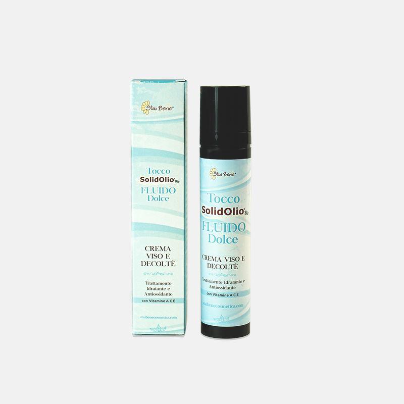 Tocco SolidOlio bio Fluido Dolce- antiossidante pelli sensibili